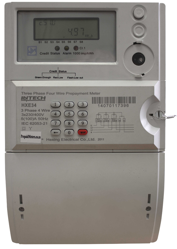 3 Phase Meter Utilyti : Pph ns three phase electricity meters mr prepaid